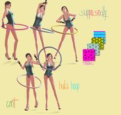 supPOSEdly-hula hoop