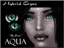 ~*By Snow*~ Hybrid Eyes (Aqua)