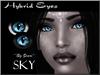 ~*By Snow*~ Hybrid Eyes (Sky)
