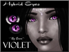 ~*By Snow*~ Hybrid Eyes (Violet)