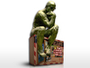 >freebie< [FFBox] Rodin: The Thinker with FFBox - Backless 3D Wall Relief Sample
