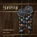 EarthStones Gypsy Earrings - Multi/Silver (GIFT BOX)