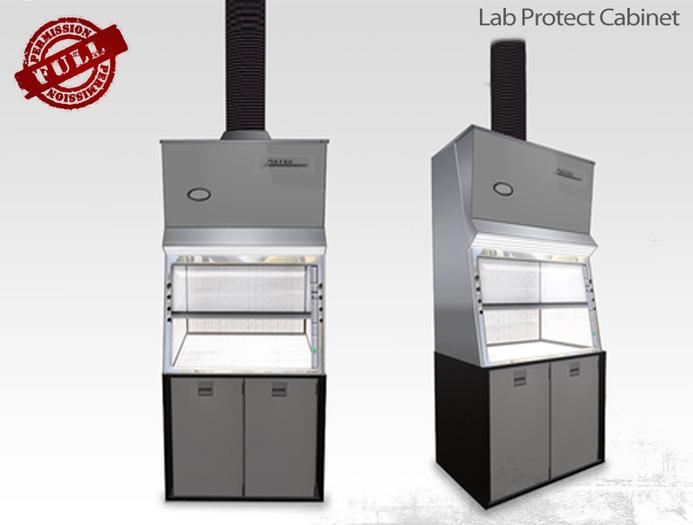 Laboratory Protect Cabinet - Full Perm