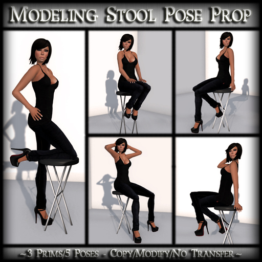 *MP* Modeling Stool (Pose Prop)