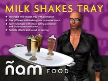 Milk Shakes Tray ÑAM
