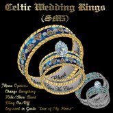 Celtic Wedding Rings (SM5)