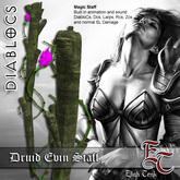DIABLOCS DiabloCs Druid Evin Staff  BOX