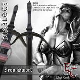 DIABLOCS Iron Sword v2.00  BOX