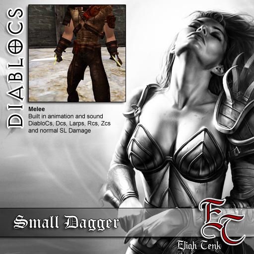 DIABLOCS Small Dagger  BOX