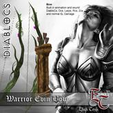 DIABLOCS Warrior Evin bow  BOX