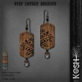 KOSH- AVES LIGNEUS EARRINGS
