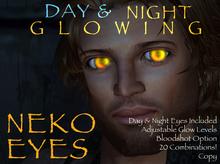 Day & Night Glowing Neko Eyes