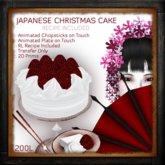 Japanese Christmas Cake w/ Recipe