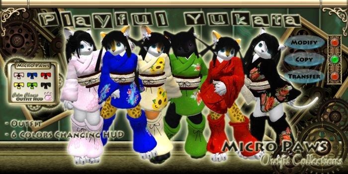 Playful Yukata Outfit