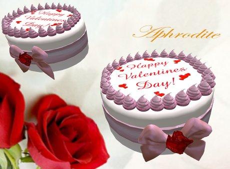 Valentines cake (boxed)