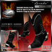 "!Drakke! ""Laredo"" Fringed Cowboy Boots(Black)   ~ SL Viewer 2 Ready (Alpha Mask Included)"