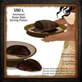 Animated Roast Bosk Serving Platter