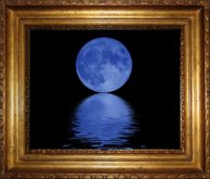 動く絵-Blue Moon