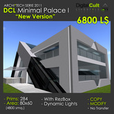 """DCL """"Minimal Palace"""" New Version!! perfect as Megastore, Art Gallery, Office"""