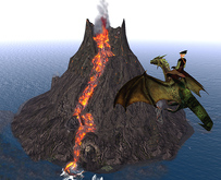 """Cave Volcano """"Dragons Layer"""""""