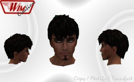 ~Wim Creation - Epics Hairs (Black Coffee)~PROMO