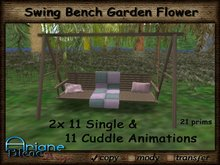 Swing Bench Garden Flower --- Cuddle Animations ---