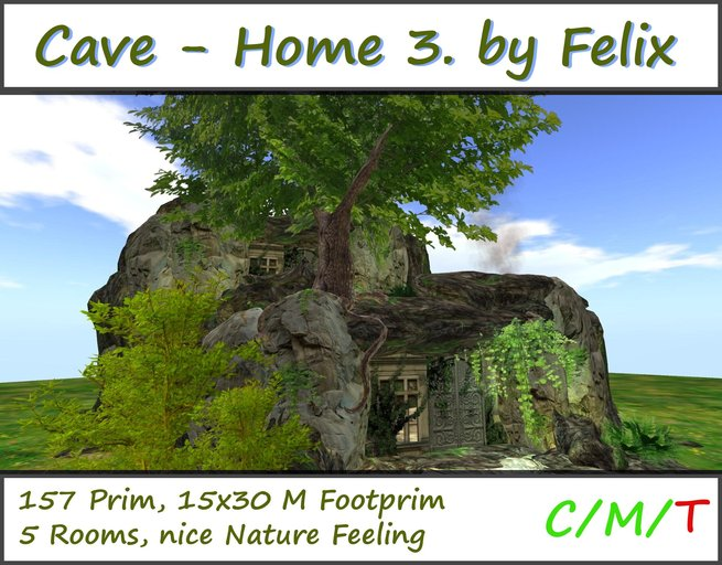 Cave House 3 by Felix ( Nature Cave Grotto )