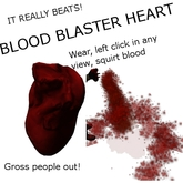 Blood Blaster Heart
