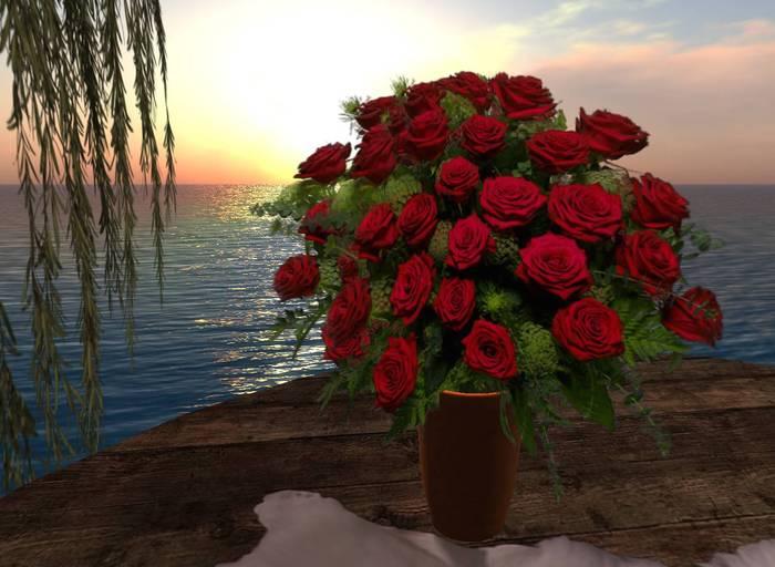 CJ 2 Dozen Roses - c + m ~