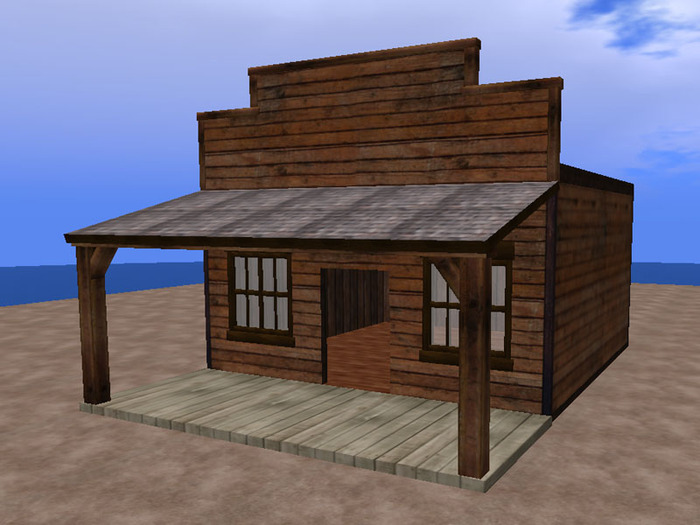 Second Life Marketplace Re Old Western Brown Wood