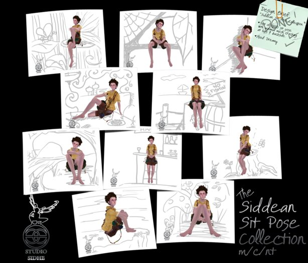 :+:SS:+: Siddean's Sit Pose Collection