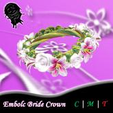 .!CN!. Embolc Bride Crown