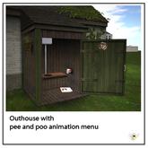 Oat Mill Fermette Outhouse