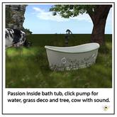 Oat Mill Fermette Outside bath Tub