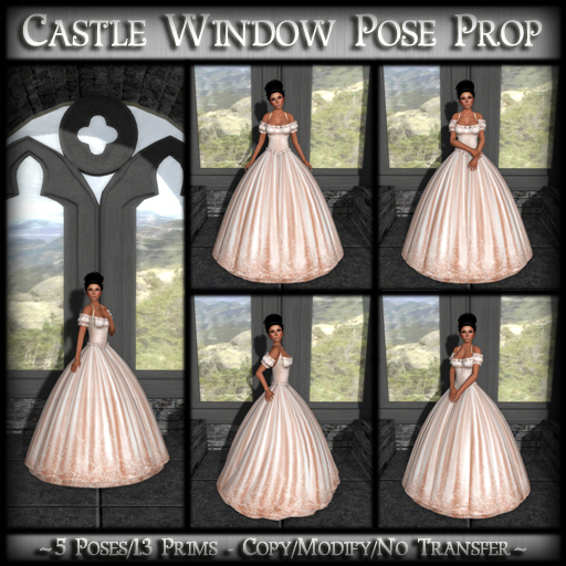 *MP* Castle Window (Pose Prop)