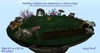 Floating Skybox / Home /Habitat for Meeroos or other pets with flowers, mushrooms, Log, Bench, Stump, Cave and waterfall