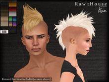 RAW HOUSE :: Khaos Hair [All Colors] w/ razored hairbase