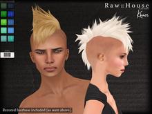 RAW HOUSE :: Khaos Hair [Cold Pack] w/ razored hairbase
