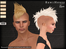 RAW HOUSE :: Khaos Hair [Light Blondes] w/ razored hairbase