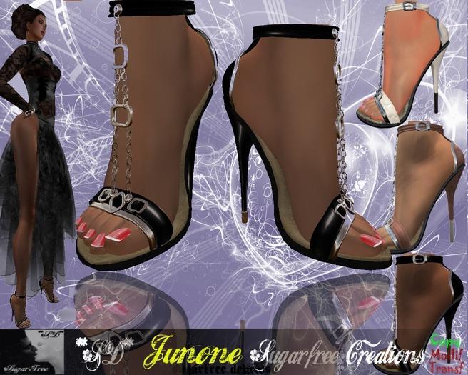 **SD**-Junone Romantic  formal shoes Stiletto Full Option