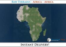 50% OFF SALE! RAW Terrain File: Africa - Africa