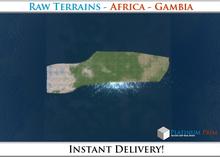 50% OFF SALE! RAW-Datei Terrain: Africa - Gambia