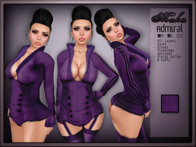 *MUKA* Admiral Purple