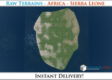 50% OFF SALE! RAW-Datei Terrain: Africa - Sierra Leone