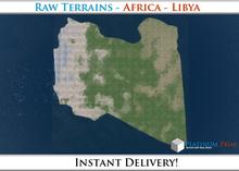 50% OFF SALE! RAW-Datei Terrain: Africa - Libya