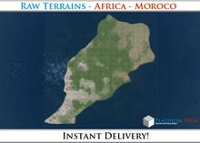 50% OFF SALE! RAW-Datei Terrain: Africa - Moroco
