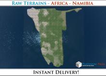 50% OFF SALE! RAW-Datei Terrain: Africa - Namibia