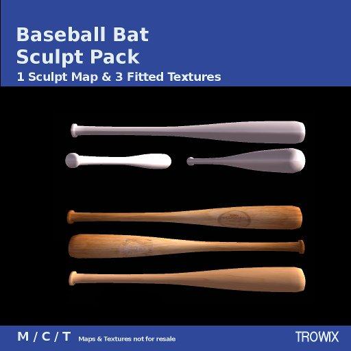 Trowix - Baseball Bat Sculpt Pack