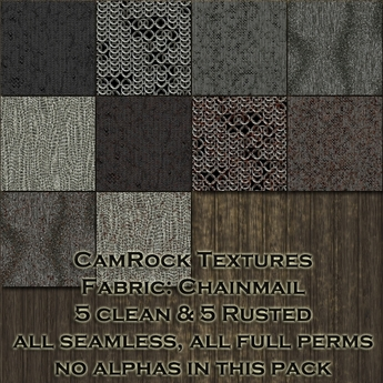 CamRock Textures:Fabric - Chainmail