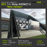 *** DCL The Shop District II - Perfect as Megastore, Mall, Art Gallery, Meeting Area